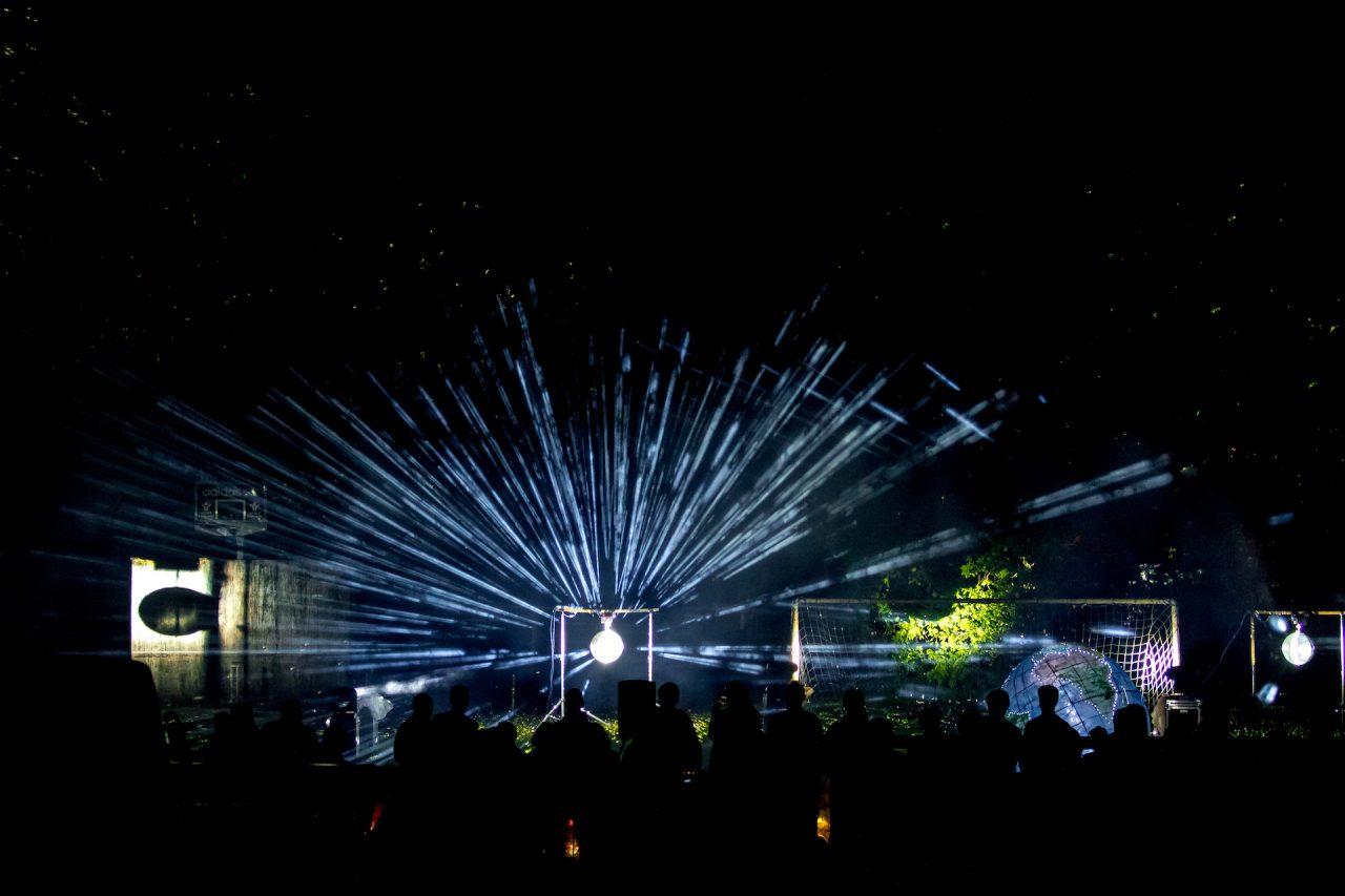 firework lights sound carnival glitter ball
