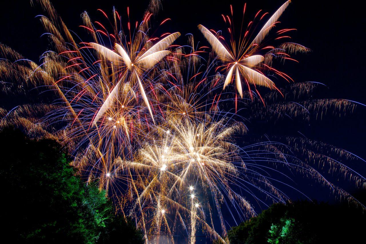 Fireworks Display Finale