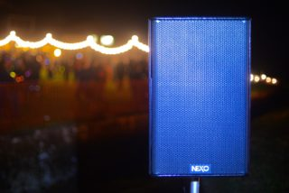 fireworks lights sound Nexo PA