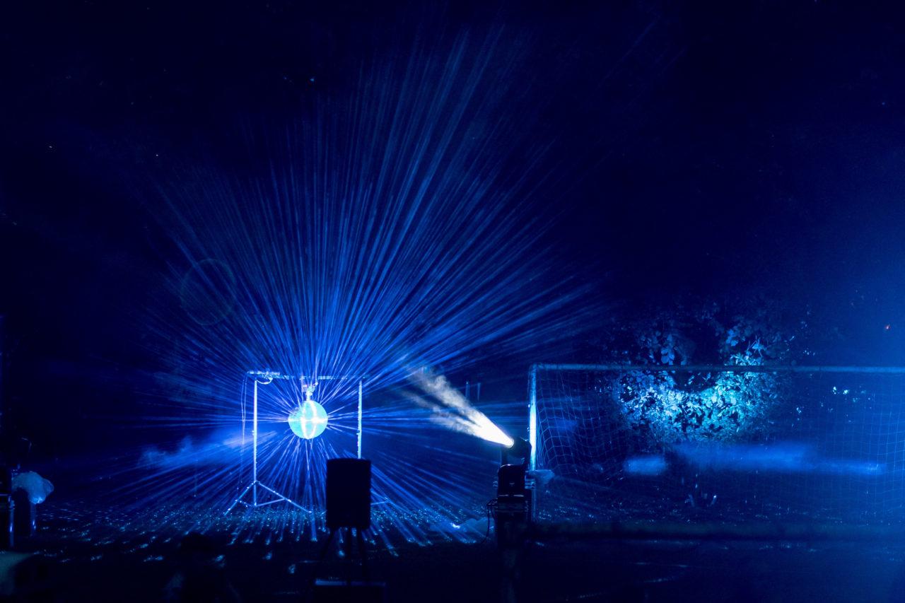 firework lights sound glitter ball