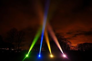 Lighting Display Searchlights