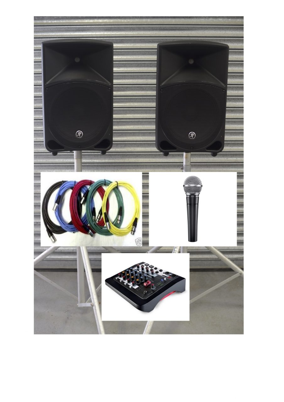 iPod 1 Audio Hire Full Kit