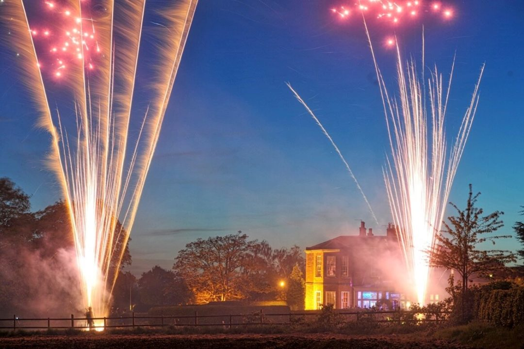 Dovecliff Hall Fireworks